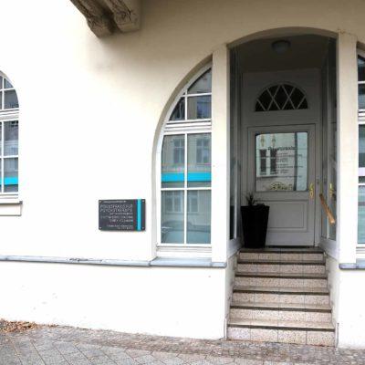 Eingang Sternstraße in Magdeburg